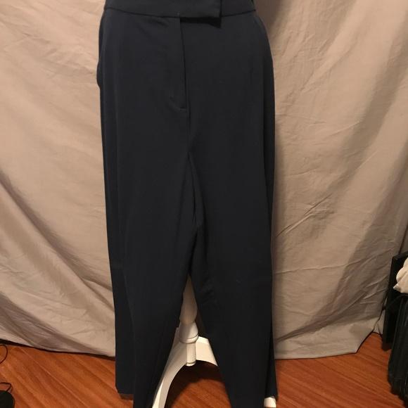 83e1c944 Dress Barn Navy Dress pants